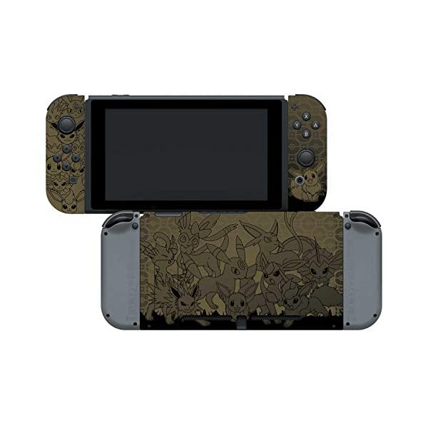 Controller Gear Nintendo Switch Skin & Screen Protector Set - Pokemon - Eevee Evolutions Set 1 - Nintendo Switch 6