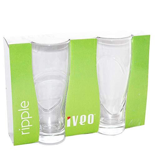 Iveo Glass 2 Pcs Water/Juice Pilsner Set 348 ml
