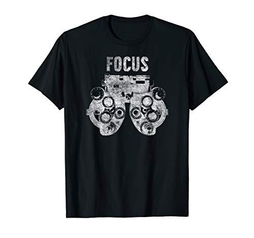 Funny Optometrist Phoropter Eye Focus T-shirt Gift