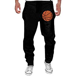 XDR Fashion BasketBall Tennisholiday Athletic Pants For Men Black L