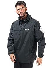 Timberland Mens Windbreaker Hooded Jacket in Black