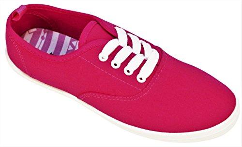 Lace up Walk Fashion Canvas A Take Sneaker Womens XxzOOw