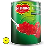 Del Monte Chopped Canned Tomatoes 3 x 400 gm (Pack of 3)