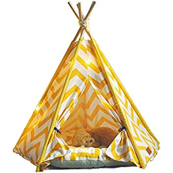 Amazon.com : little dove Pet Teepee House Indian Tents
