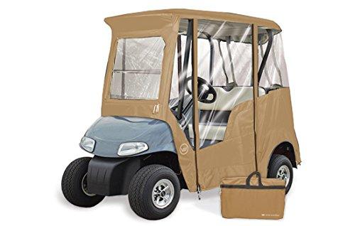 GreenLine GLEEZT02 2 Passenger EZ-Go Custom Golf Cart Enclosure, 68
