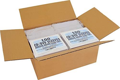 SquareDealOnline - CDIVSB - CD Sleeves - 5.25