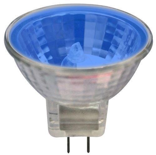 MR16 EXN Type w/ Blue Glass Cover 50W GX5.3 Base 12V by AH Lighting - 50w 12v Gx5.3 Base