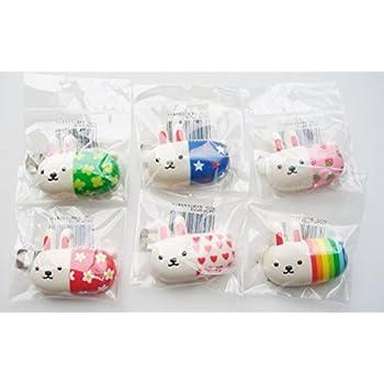 6 Japan Character Medicine Rabbit Magnet Set
