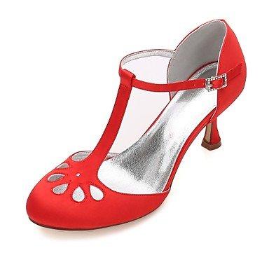 uk3 Primavera scarpe 5 madre A Decolleté Kitten Scarpe eu36 stiletto Punta sposa Comoda 5 Per regalo con donna Estate Il Raso Decolleté cinturino Basso D'Orsay per da miglior cn35 e us5 donna Cgxvqw