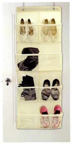 8 Pocket Over The Door Organizer