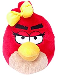 Girls Red Angry Bird with Bow Plush Backpack - Angry Birds Kids Bag
