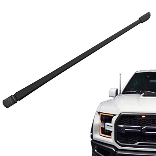 patible with Ford F150 2009-2019 | 13 inches Flexible Rubber Antenna Replacement | Designed for Optimized FM/AM Reception ()