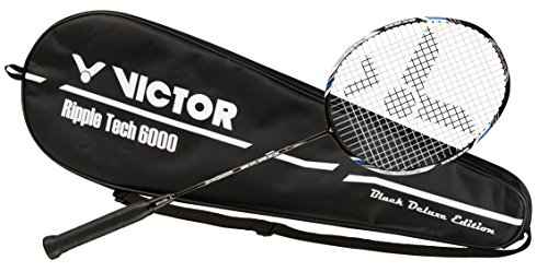 Badmintonschläger VICTOR RIPPLE TECH 6000 Black Deluxe Edition