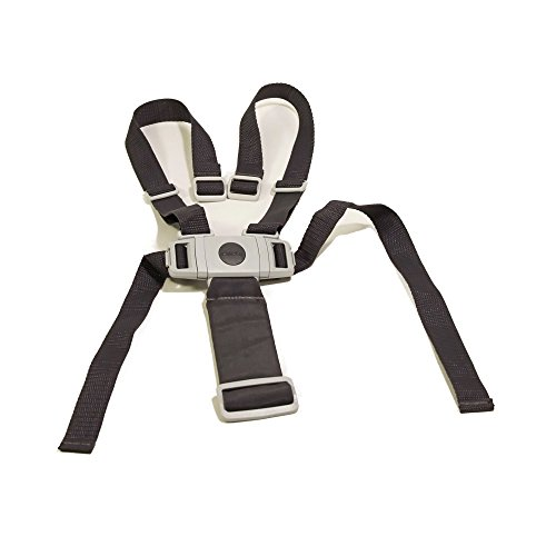 Replacement Harness / Straps for Chicco Stack Highchair - DARK GREY (GRAY)