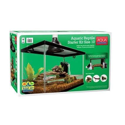 Amazon Com 10 Gallon Aquarium Starter Kit Fish Reptile Turtle