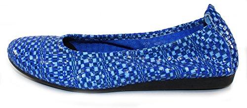Arche Womens Laius En Cuir Verni Zaffiro Popa - Bleu Clair / Bleu Clair - Taille 42 M