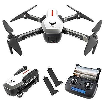 Mobiliarbus RC Drone SG906 GPS Drone 4K sin escobillas con cámara ...