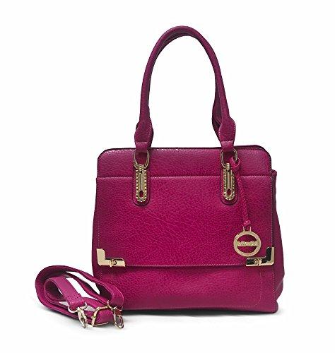Emma Satchel - Sorrentino Sori Collection No. 560N Emma Satchel (Pink)