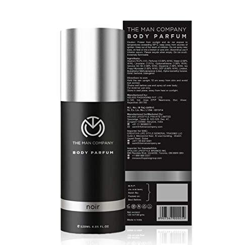 The Man Company Non-Gas Body Perfume For Men - Noir (120 Ml)   No Gas Deodorant   Body Spray For Men   Long Lasting… 2021 July No gas body perfume Long-lasting freshness Perfect for everyday use