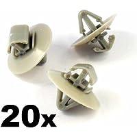 20 x Clips Agrafe Plastique -(7703077421) - Panneaux de Portes