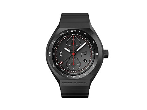 Porsche Design Monobloc Actuator 24h Chrono Automatic Watch, Titanium, Black