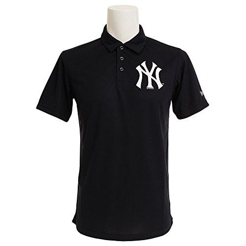 (ニューエラ) NEW ERA ゴルフ ポロシャツ 鹿の子 MLB ニューヨークヤンキース ネイビー GOLF M