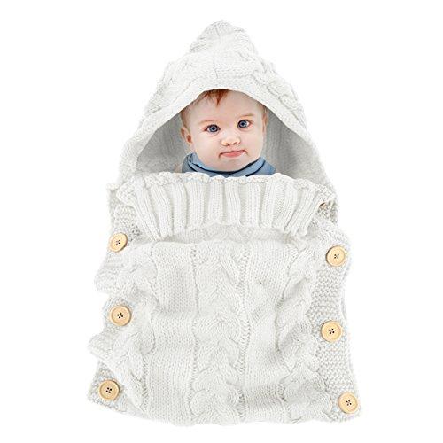 Oenbopo Newborn Baby Wrap Swaddle Blanket Kids Toddler ...