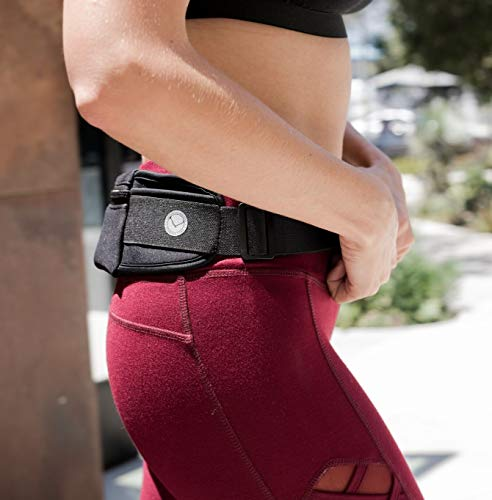 Orion Running Belt - Hands-Free Way to Carry Your Phone, Money, Keys While Hiking, Running, Walking, Parenting - Adjustable Water Resistant Fanny Pack for Amusement Parks, Travel by Mind and Body Experts (Image #5)