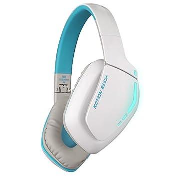 CITW Auriculares para Juegos Auriculares Inalámbricos Bluetooth 4.1 Auriculares para Juegos Profesionales con Auriculares para Máquina De Juegos con ...