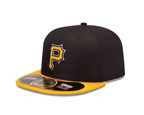 MLB Pittsburgh Pirates Diamond Era 59Fifty Baseball Cap, Black, 800,Black,800