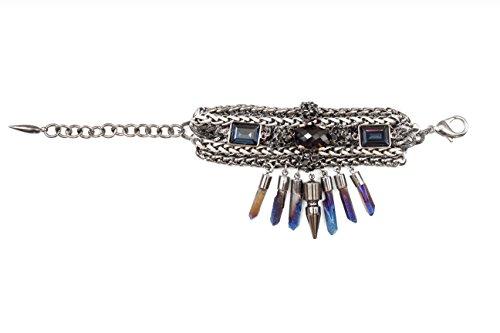 Eno MOUNSER laiton plaqué Bracelet de 15 à 18 cm