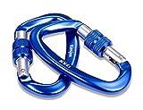 Kimjee 12KN Locking Carabiner D Ring Aluminum