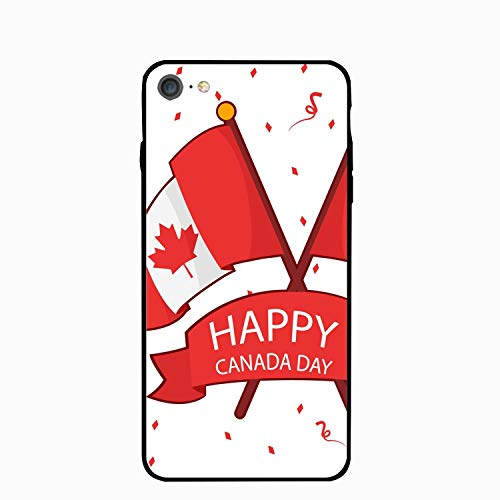 Canada Flag Day iPhone 6S Case for Girls,iPhone 6 Case,Hard PC Case Anti Slip Protective Cover for iPhone 6/6S 4.7