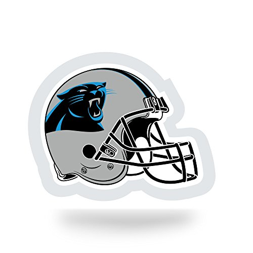 NFL Carolina Panthers  Team Tattoo, Grey, Black, Blue, 5-inches by 3.5-inches by 0.2-inch]()