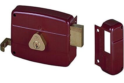 Cisa 50141 Cerraduras de Aplicar 50141, Puertas, Madera, Sx, 60 mm