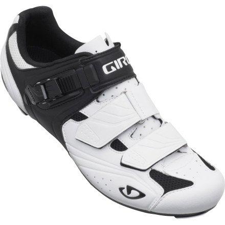 Giro 2015 Men's Apeckx Road Bike Shoes (Pure White/Black – 45.5) Size 45.5 M EU For Sale