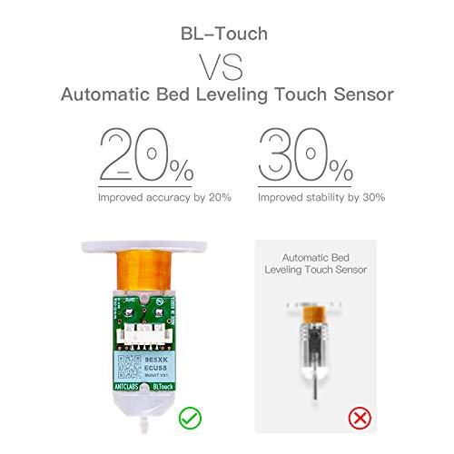 Creality BLTouch V3.1 Auto Bed Leveling Sensor Kit for Ender3 V2/Ender 3/Ender 3 Pro/Ender 5/Pro with 32 Bit V4.2.2/V4.2.7 Mainboard 3-d Printer