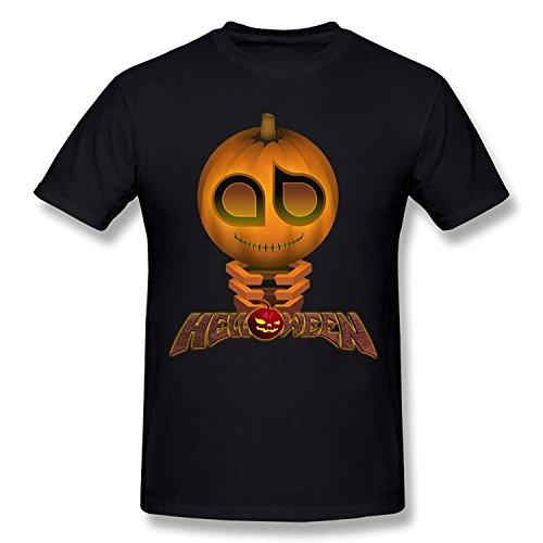 WunoD Men's Happy Halloween T-shirt Size S -