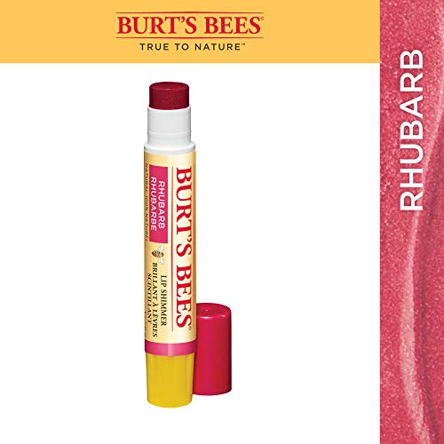 BURTS BEES Lip Shimmer Rhubarb, 2.76 GR