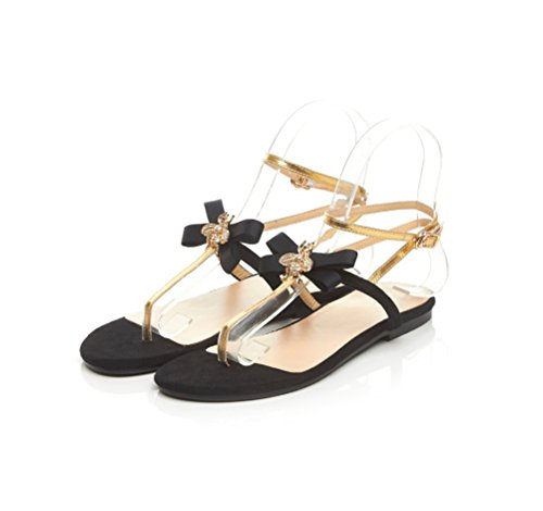 Flip UpSun Black Women's flop Sandals 2 Fashion YYEqf1r
