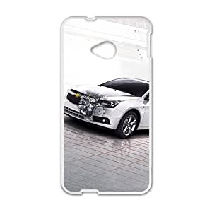 DAZHAHUI Chevrolet car design fashion cell phone case for HTC One M7