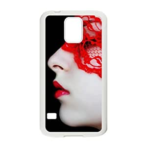 glam mysterious woman personalized high quality cell phone case for Samsung Galaxy S5