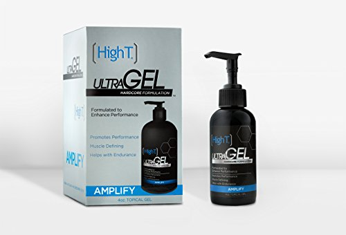 High T Ultra Gel - #1 Best Testosterone Booster - Hardcore Muscle Formulation (Testosterone Cream For Men compare prices)