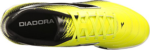 R Shoes Turf Yellow Men's Diadora TF Mago Soccer Black Fluo EfqpTwp