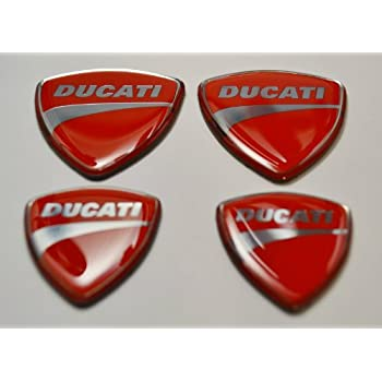 Amazoncom Ducati Stickers For Helmet Tank Carbon Fiber Decals - Ducati motorcycles stickers