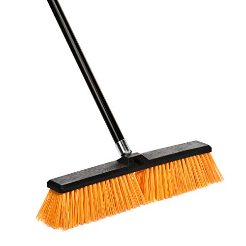 - Alpine Industries Rough-Surface Push Broom (18 Inch)