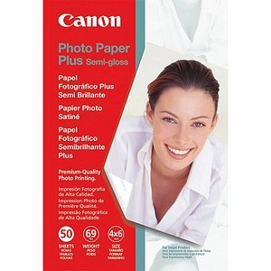 Plus Semi Gloss 50 Sheets - Canon Photo Paper Plus Photo Paper