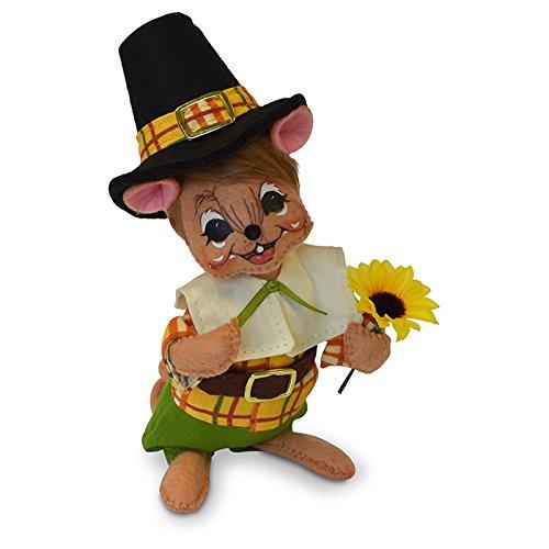 Annalee 6in Pilgrim Boy Mouse