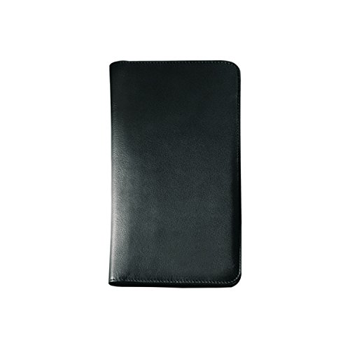 Price comparison product image Andrew Philips Leather Airline Ticket/Passport Case in Black