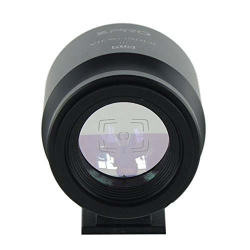 Camera Viewfinder with Optical External Finder Frame for Canon Nikon Olympus Leica Pentax Hasselblad Fuji GR X70 Ricoh DP Sigma VF-11 Sony RX1 Digital Cameras - 21mm Viewfinder